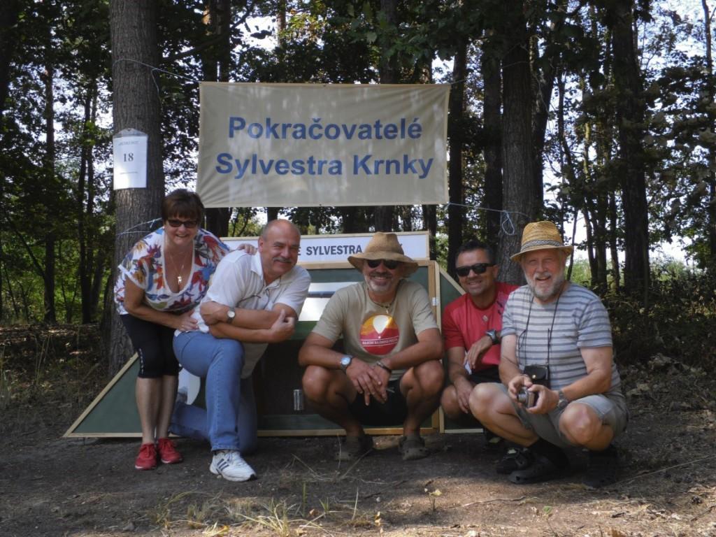 """Odborné a organizační vedení soutěže """"Pokračovatelé Sylvestra Krnky"""""""