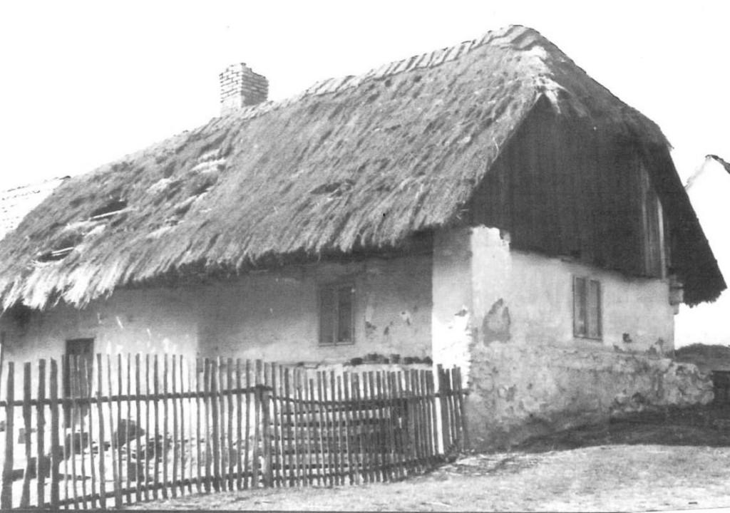 Původní dům ze 70. let minulého století.